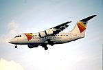 158ff - British European BAe 146-200, G-JEAS@LHR,27.10.2001 - Flickr - Aero Icarus.jpg