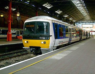 Chiltern Railways - Chiltern Railways refurbished 165001 at London Marylebone