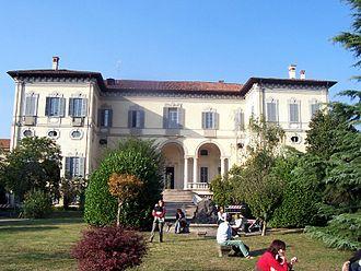 Paolo Andreani - The Villa Sormani today in Brugherio