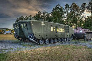 LVT-5 - LVTP-5 on display at Georgia Veterans State Park