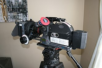 16 mm film -  A modern 16 mm Arri camera.