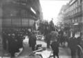 17-10-11, obsèques de Level (le corbillard à 2 chevaux) - (photographie de presse) - (Agence Rol).png