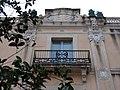 185 Casa Mir, c. Sant Josep 5 (Vilanova i la Geltrú), detall de la façana.jpg