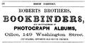 1862 RobertsBros BostonDirectory.png