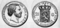 1869 Dutch 2.5 guilders both.png