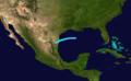 1910 Atlantic tropical storm 2 track.png