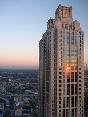 191 Peachtree Tower - Image: 191 Peachtree Tower