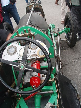 Razor Blade - Image: 1923 Aston Martin Razor Blade team car in Morges 2013 Cockpit (open)