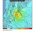 1967 Neiva earthquake ShakeMap.jpg