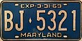 1968-69 Maryland license plate.JPG