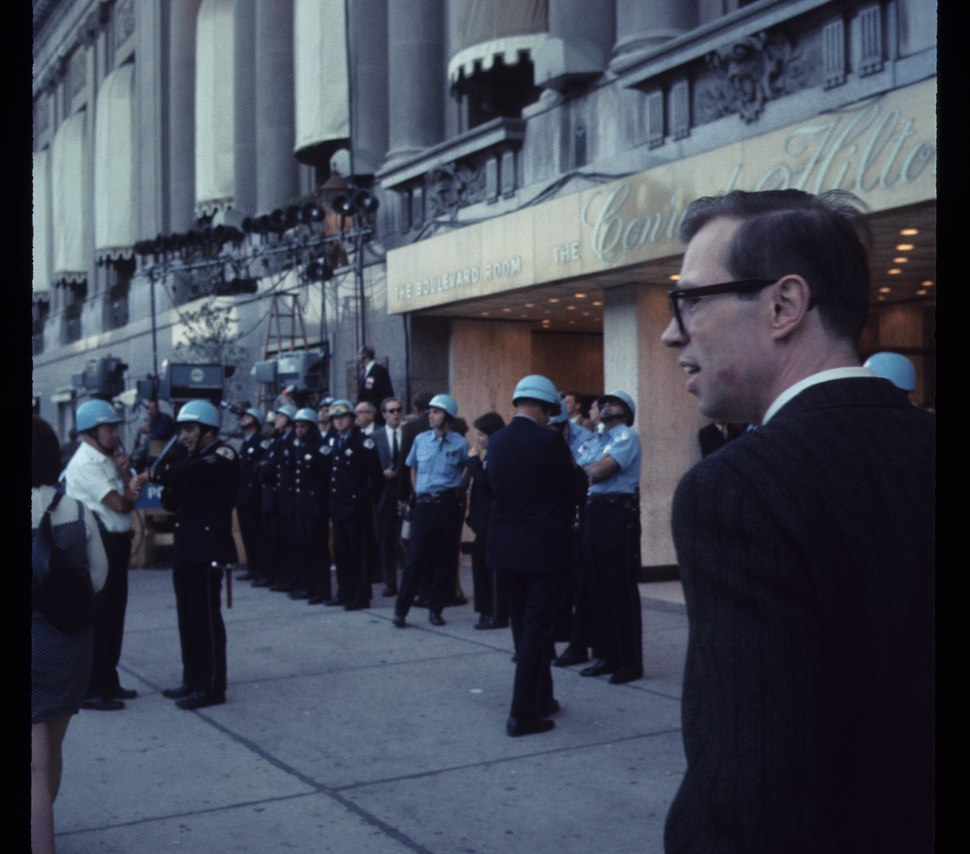 1968 Democratic National Convention, Chicago. Sept 68 C15 6 1296 , Photo by Bea A Corson, Chicago. Purchased at estate sale in 2011 by Victor Grigas Released Public Domain