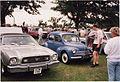1977 Ford Mustang II & 1960 Renault 4CV (16395556998).jpg