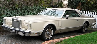 Lincoln Continental Mark V - 1979 Continental Mark V Cartier