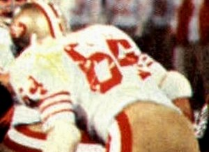 "Jack ""Hacksaw"" Reynolds - Reynolds playing for the 49ers during Super Bowl XVI"