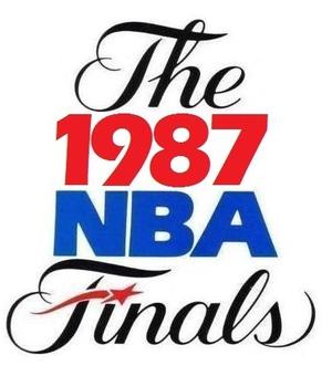1987 NBA Finals - Image: 1987NBAFinals