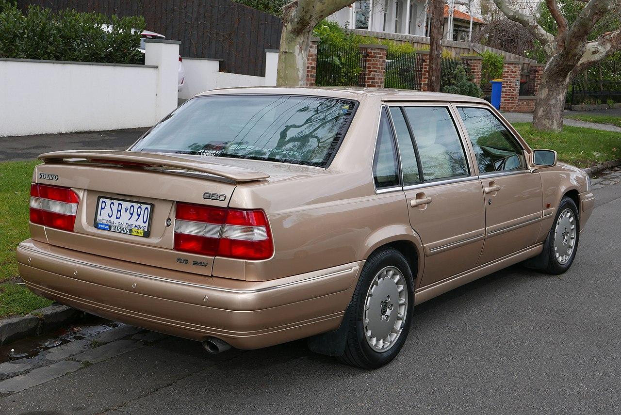 Volvo volvo coupe 2015 : File:1996 Volvo 960 SE sedan (2015-07-24) 02.jpg - Wikimedia Commons