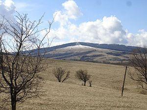Bukowica Range - Southern summit