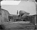 200-lb Gun on Morris Island. Used for Shelling Charleston (3995311839).jpg