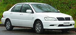 2002–2003 Mitsubishi Lancer LS, Australia