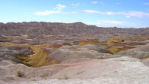 English: Badlands National Park, South Dakota, USA