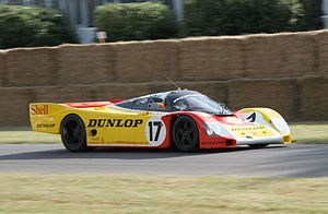 Porsche 962 - One of a trio of factory-run 962Cs which raced at the 1988 24 Hours of Le Mans.