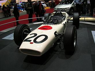 Honda RA271 - Image: 2006 SAG F1 Honda RA271 1964 02