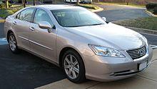 2007u20132009 Lexus ES 350 (GSV40; US)
