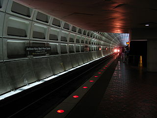 Archives station Washington Metro station
