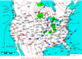 2009-07-15 Surface Weather Map NOAA.png