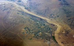Aerial view of Barstow