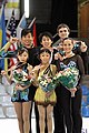 2010 Junior Worlds Pairs - Podium - 8298.jpg