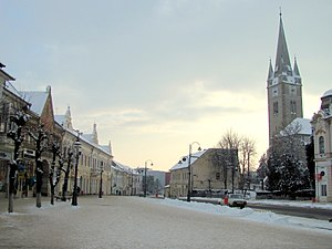 Turda - Republic Square