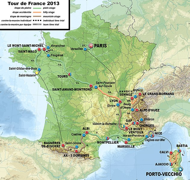 File:2013 Tour de France map.jpg