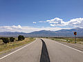 2014-08-09 11 27 17 View east on U.S. Routes 6 and 50 and south on U.S. Route 93 about 63.5 miles east of the Nye County line near Majors Place, Nevada.JPG