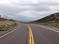 2014-08-11 14 14 12 View east along U.S. Route 50 about 33.4 miles east of the Eureka County line in White Pine County, Nevada.JPG