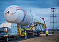 20140105 Antares CRS Orb-1 rocket rollout (201401050020HQ).jpg