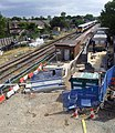 2015 London-Abbey Wood, Crossrail construction site 1.jpg
