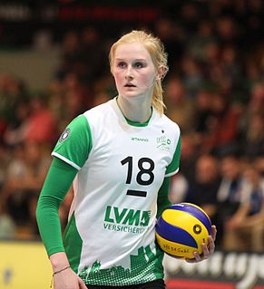 Leonie Schwertmann German volleyball player