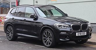 BMW X - Image: 2018 BMW X3 x Drive 30d M Sport Automatic 3.0 Front
