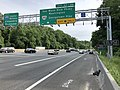 2019-05-29 16 58 29 View south along the outer loop of the Capital Beltway (Interstate 495) at Exits 43-44 (George Washington Memorial Parkway, Virginia State Route 193-Georgetown Pike) in McLean, Fairfax County, Virginia.jpg