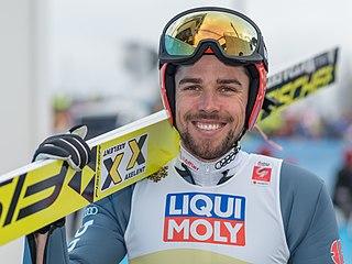 Johannes Rydzek German Nordic combined skier