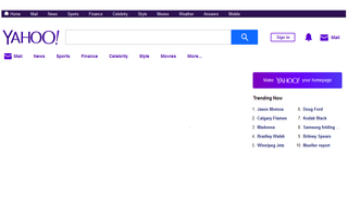 Yahoo! Search web search engine