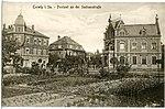 20348-Coswig-1917-Postamt an der Sachsenstraße-Brück & Sohn Kunstverlag.jpg