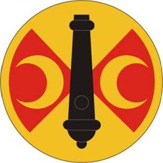 210th Field Artillery Brigade - 210th Field Artillery Brigade Shoulder Sleeve Insignia