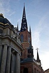 Fil:21300000019240 Stockholm - Riddarholmen - Riddarholmskyrkan.jpg