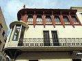 222 Casa Alsina Roig, c. Abell 2 (Canet de Mar), façana de la riera Buscarons.JPG