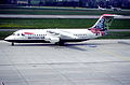 23bi - British Airways Avro RJ 100; G-BXAS@ZRH;09.05.1998 (6116223478).jpg