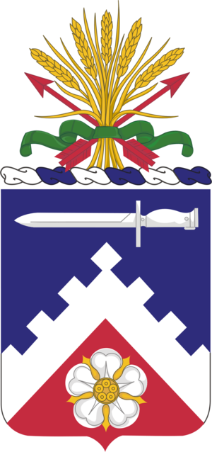 299th Brigade Support Battalion (United States) - Coat of arms