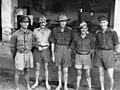 2nd 3rd MG Bn officers at Bicycle Camp, Batavia.jpg