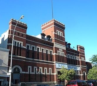 101st Signal Battalion - Former Second Company Armory, Brooklyn